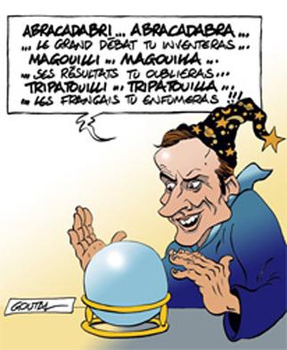 dessin de Alain Goutal,nous sommes devenus des mutants